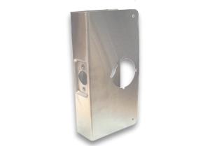 SERRURIER BRISSON WRAP AROUND PLATES FOR CYLINDRICAL DOOR LOCKS AND DEADBOLT DON-JO